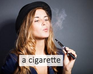 to smoke a cigarette