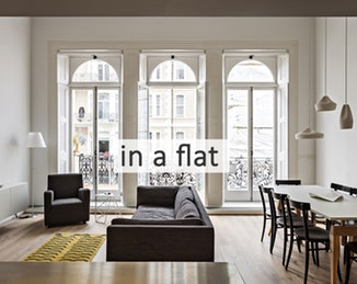 to live in a flat